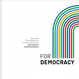 Brochure of the Research Association ForDemocracy